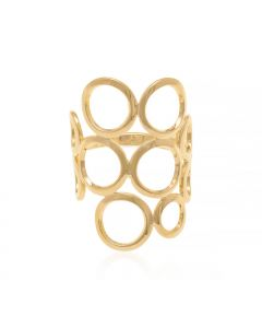 GOLD PLATED KID'S RING