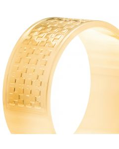 GOLD PLATED KID'S RING WITH ZIRCONIA
