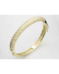 GOLD PLATED BRACELET WITH ZIRCONIA