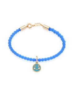 GOLD PLATED KID'S BRACELET WITH CRYSTAL